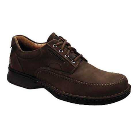 Men's Clarks Un.Cover Brown Leather