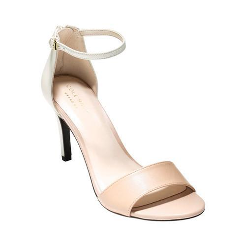 f44f3fd15863 Shop Women s Cole Haan Clara Grand Ankle Strap Stiletto Sandal Nude Leather  - Free Shipping Today - Overstock - 16002802