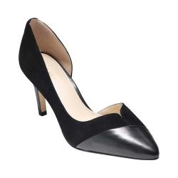 Women's Cole Haan Josette Pump Black Suede/Leather