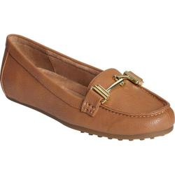 Women's A2 by Aerosoles Test Drive Loafer Tan Faux Leather