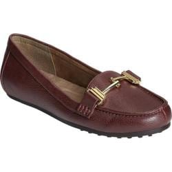 Women's A2 by Aerosoles Test Drive Loafer Wine Faux Leather