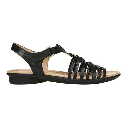 Shop Women S Naturalizer Wade Strappy Sandal Black Leather