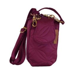 Women's Donna Sharp Cell Phone Purse Magenta