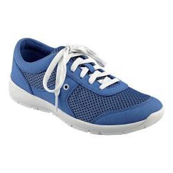 Women's Easy Spirit Gogo Sneaker Blue/Blue Fabric