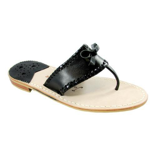 055c3aea5d9 Shop Women s Jack Rogers Adeline Thong Sandal Black Black Patent Leather -  Free Shipping Today - Overstock - 16074344