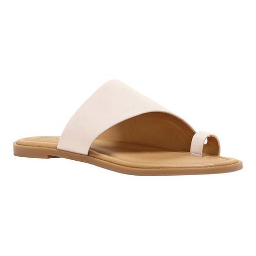 Shop Women S Lucky Brand Anora Toe Ring Sandal Peach Whip