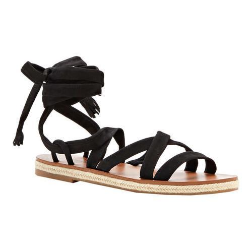 9de8a17af8f Shop Women s Lucky Brand Dalty Lace Up Sandal Black Nubuck - Free Shipping  On Orders Over  45 - Overstock - 16074385