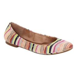 Women's Lucky Brand Emmie Flat Multicolored Print Leather
