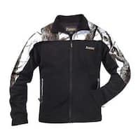 Men's Rocky Fleece Jacket 609476 Realtree Hardwoods Snow/Black