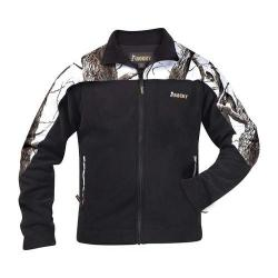 Men's Rocky Fleece Jacket 609476 Realtree Hardwoods Snow/Black