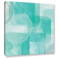 Linda Woods's 'Beach Glass 1' Gallery Wrapped Canvas