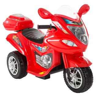 Ride on Car, 3 Wheel Trike Motorcycle for Kids, Battery Poweredby Lil' Rider