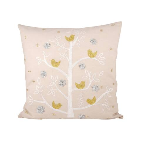 Pomeroy Holiday Partridge Pillow