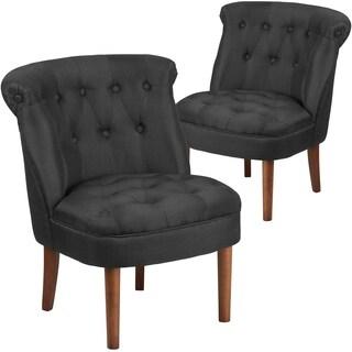 2 Pk. HERCULES Kenley Series Tufted Chair