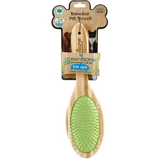 DogSpa Natural Bamboo Pin Grooming Brush