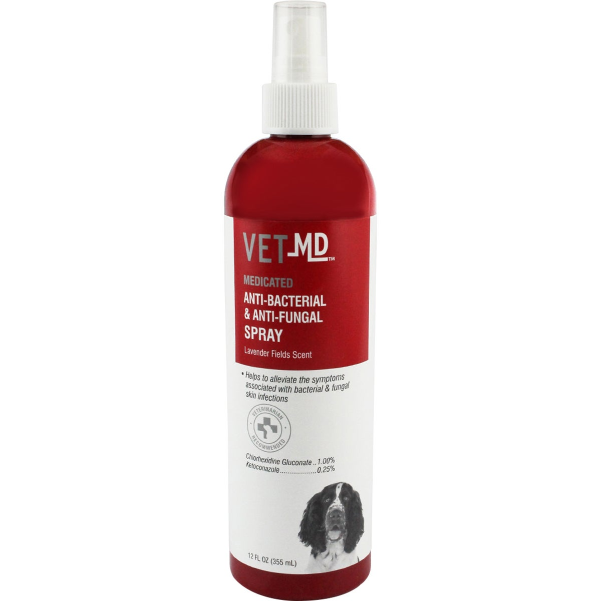 Fetch For Pets VetMD Anti-Bacterial/Anti-Fungal Spray 12f...