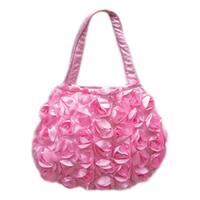 Pink Flower Toddler Purse