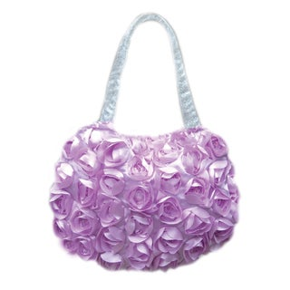 Purple Flower Toddler Purse