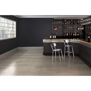 Shop Somette 30 Inch Stainless Steel Modern Swivel Bar