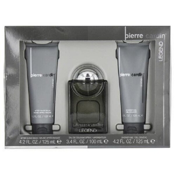 b8f48b36e46 Shop Pierre Cardin Legend Men s 3-piece Gift Set - Free Shipping On Orders  Over  45 - Overstock - 18505404