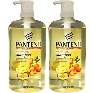 Pantene Pro- V Essential Botanicals 33.8-ounce Volumizing Shampoo (Pack of 2)