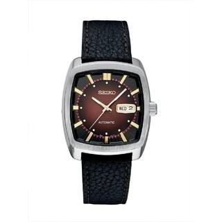 Seiko Men's Recraft Series Self Winding Automatic 21 Jewel Movement Watch - Silver