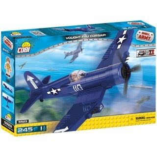 COBI Small Army World War II Vought F4U Corsair Plane 245 Piece Construction Blocks Building Kit