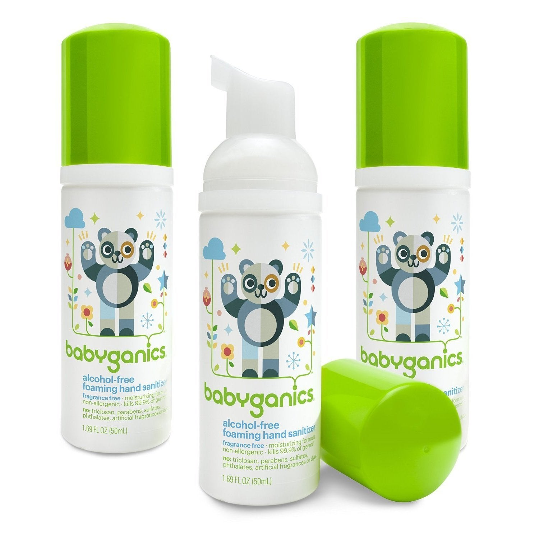 BabyGanics Alcohol-Free Foaming Hand Sanitizer, Fragrance...