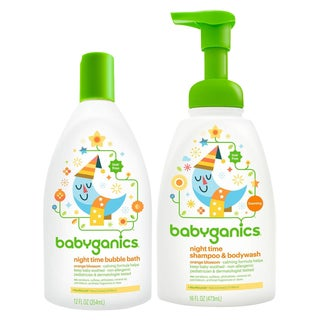 Babyganics Baby Bubble Bath with Shampoo & Body Wash, Orange Blossom