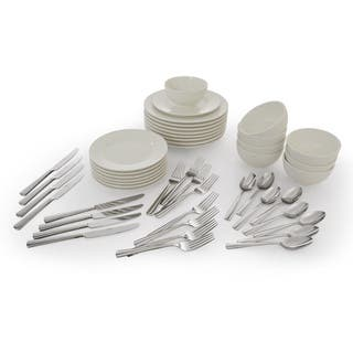 Oneida Chef's Table Entertainment Series: 48-Pc Dining Set|https://ak1.ostkcdn.com/images/products/18505675/P24618382.jpg?impolicy=medium