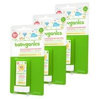 Babyganics Sunscreen Stick SPF 50, 0.47 Ounce, 3 Pack
