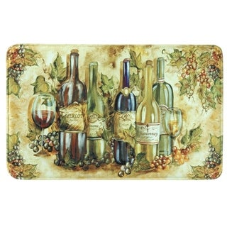 "Printed memory foam Grapevine kitchen rug by Bacova - 1'10"" x 2'11"""