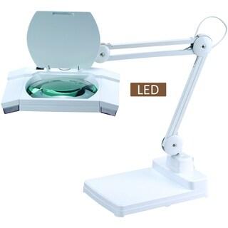 """Artiva 31"""" Multi-Function Full Spectrum LED Magnifying Table Lamp"""