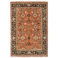 eCarpetGallery Serapi Heritage Brown Wool Hand-knotted Rug - 4'1 x 6'
