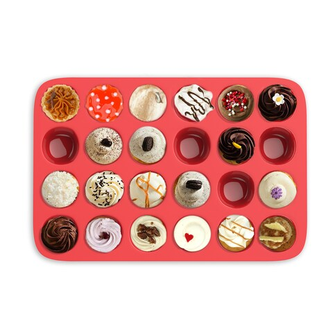 Chef Buddy Mini Muffin Pan (24 Cups)
