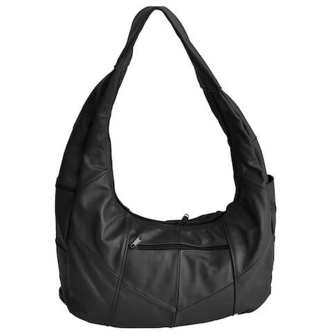 AFONiE Soft Leather Hobo