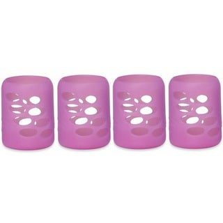 Dr. Brown's Protective Bottle Sleeve - 4 Ounce - Pink - 4 Count