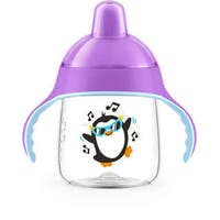 Philips Avent My Penguin Sippy Cup - 9 Ounce - 1 Pack - Purple
