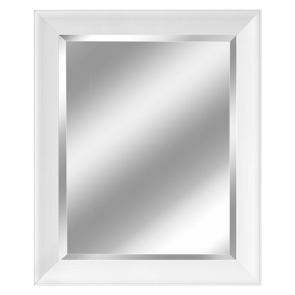 Headwest Artic Matte White Wall Mirror - 27.5 x 33.5