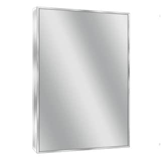 Headwest Spectrum Chrome Wall Mirror - 24 X 30