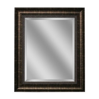 Headwest Distressed Embossed Bronze Wall Mirror