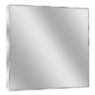 Headwest Spectrum Chrome Wall Mirror - 30 X 36