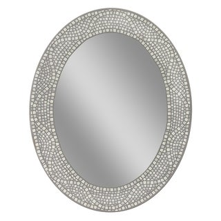 Headwest Opal Mosaic Oval Wall Mirror