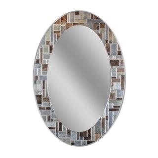 Headwest Windsor Oval Wall mirror - Multi - 21 x 31