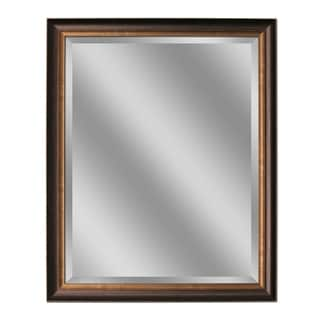 Headwest Oil Rubbed Bronze Wall Mirror - 28 X 40