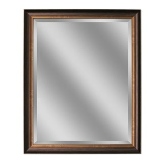 Headwest Oil Rubbed Bronze Finish Rectangular Wall Mirror