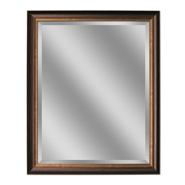 Headwest Oil Rubbed Bronze Wall Mirror - 26 X 32