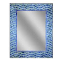 Headwest Blue Ocean Wall Mirror - Blue/Green - 24 X 30