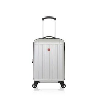 SwissGear Silver 19- inch Carry On Lightweight Hardside Spinner Suitcase