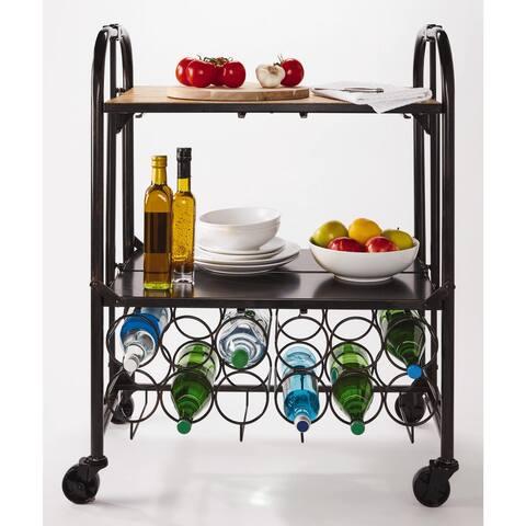 Artesa Hadamar Folding Bar Cart